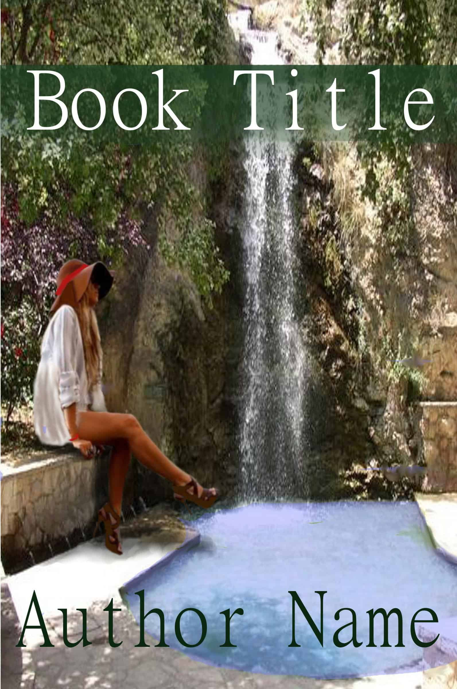 Waterfall The Book Cover Designer