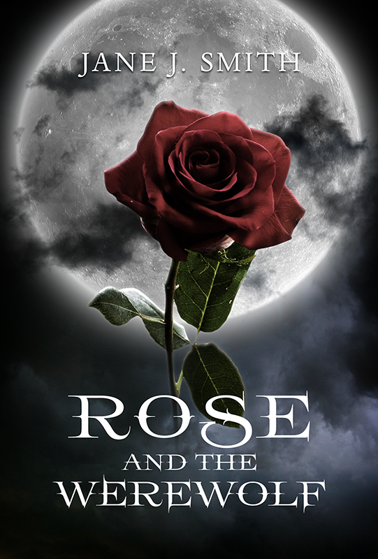 Book Cover Forros S : Rose and the werewolf book cover designer