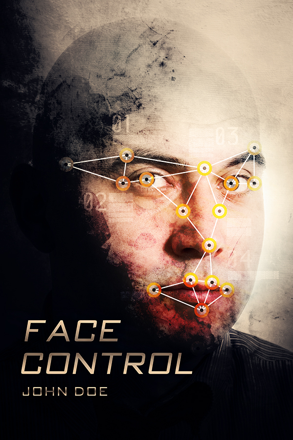 Book Covering Face : Face control the book cover designer