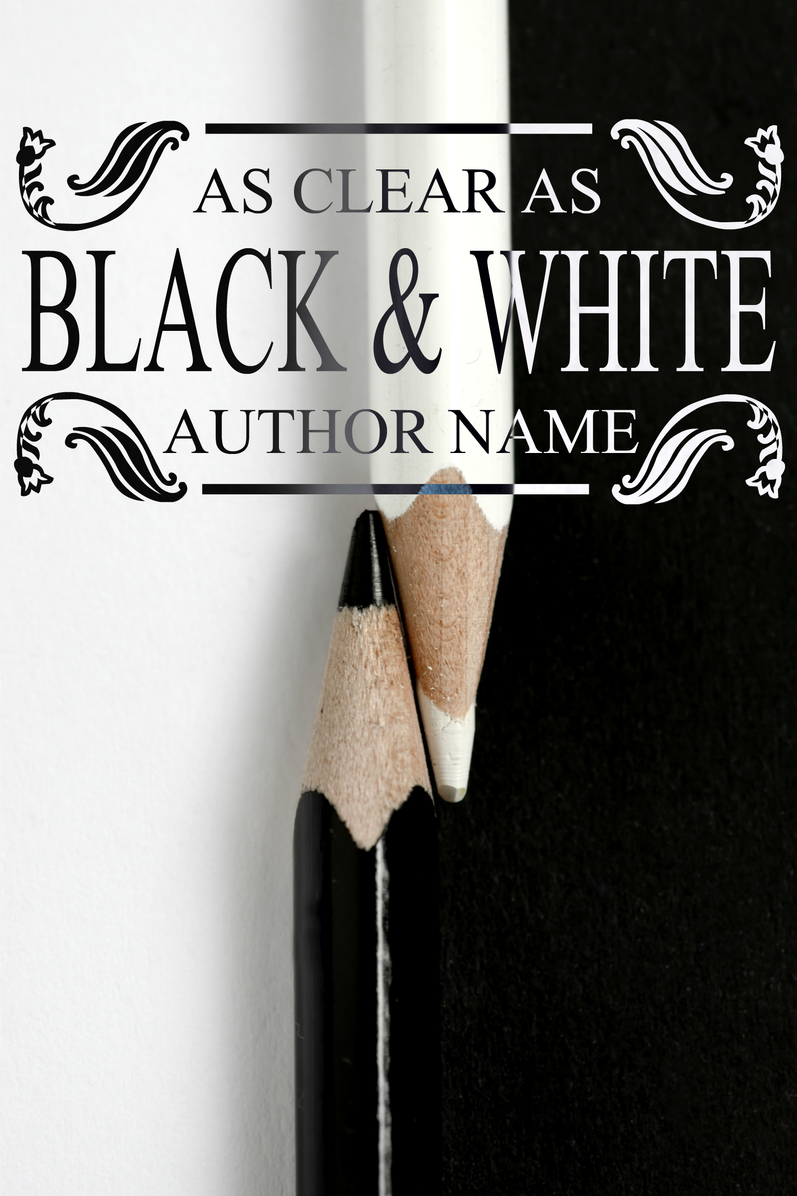 Book Cover Black White : As clear black white the book cover designer