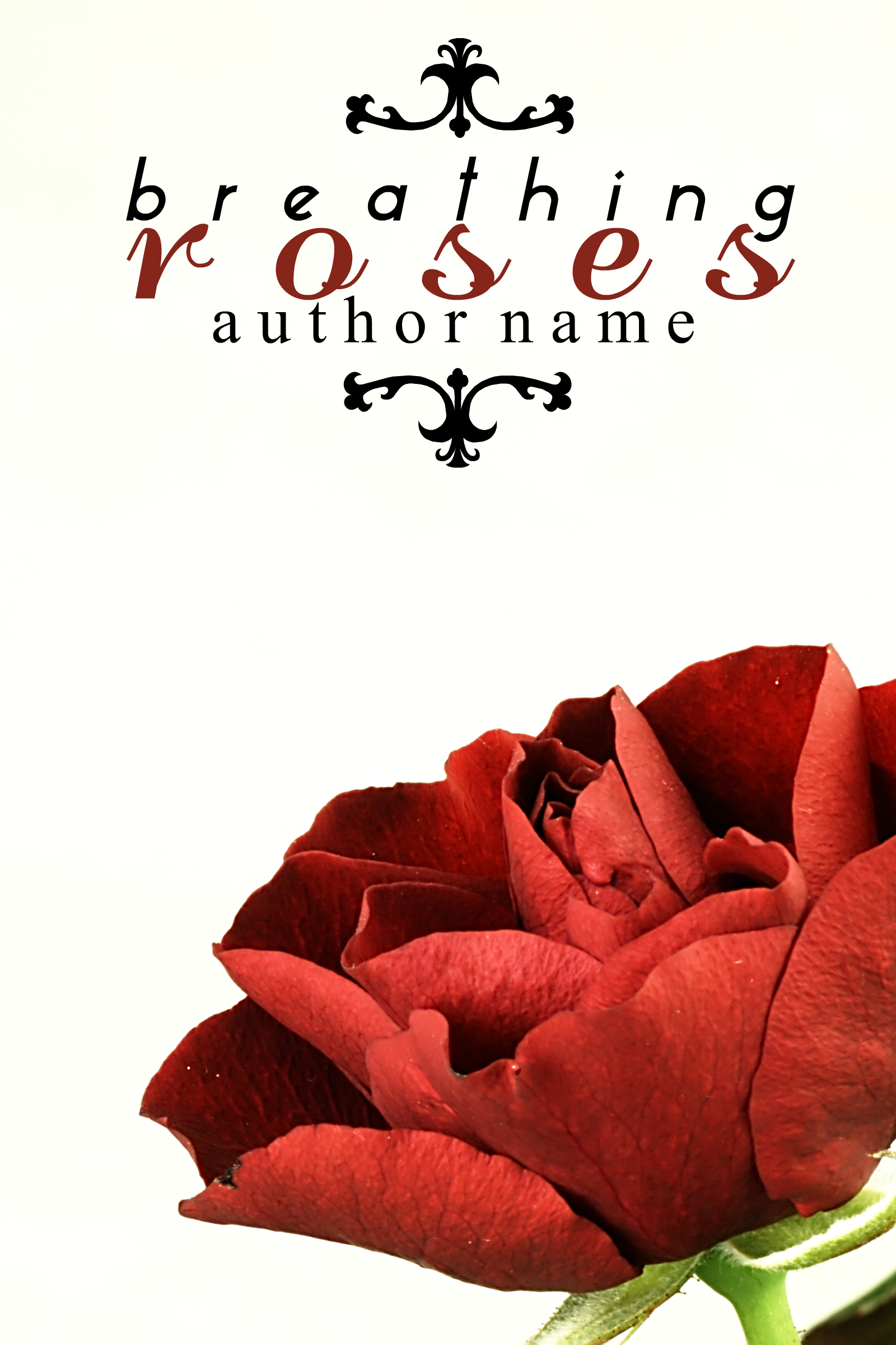 Book Cover Forros S : Breathing roses the book cover designer