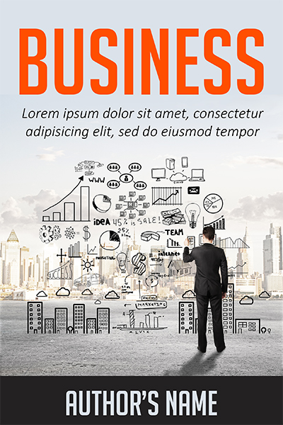 Business Book Cover Name : Business plan the book cover designer