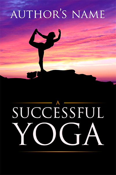 Modern Book Cover Yoga : Yoga the book cover designer