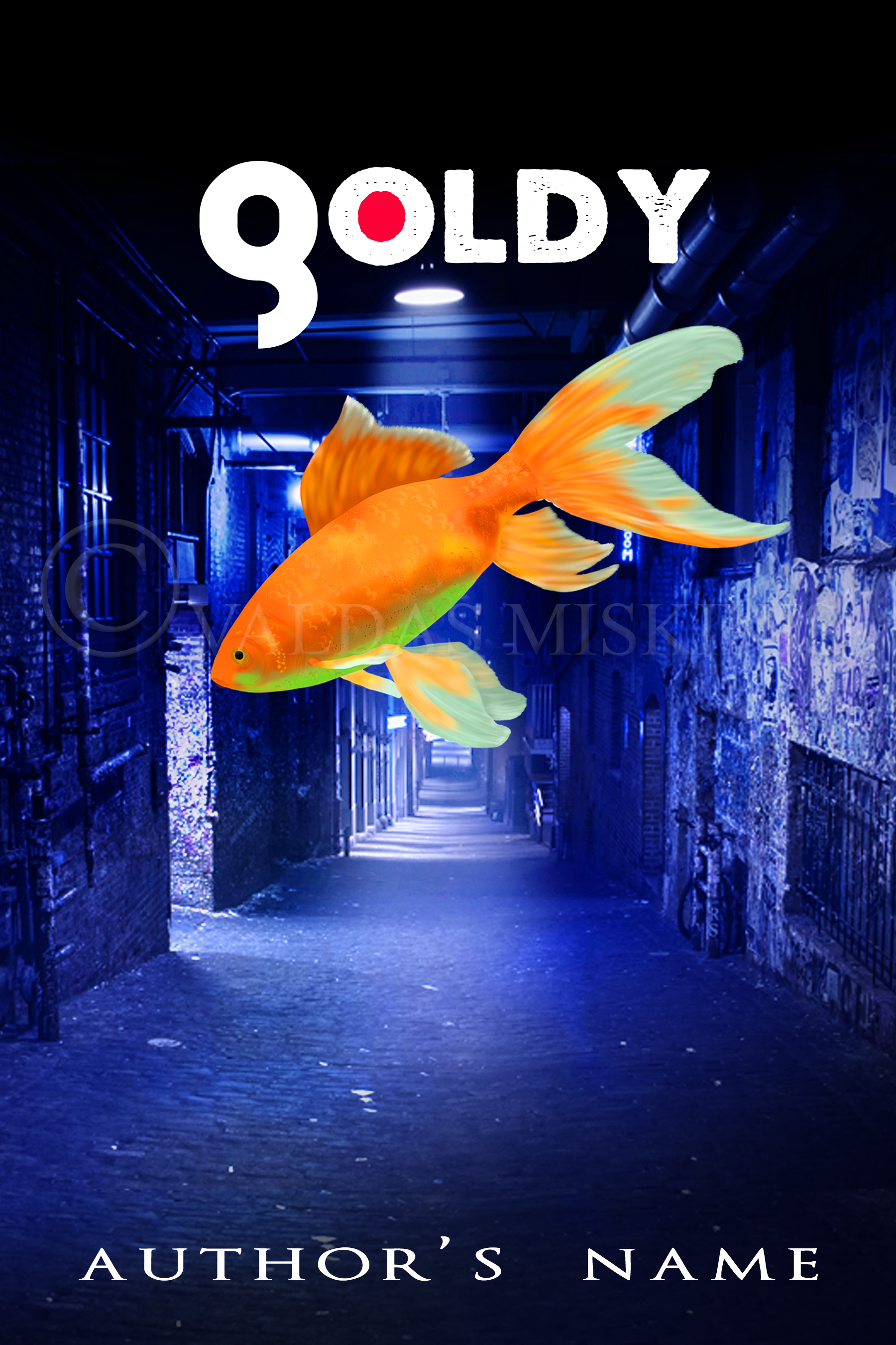 Gold fish the book cover designer for Book with fish bowl on cover