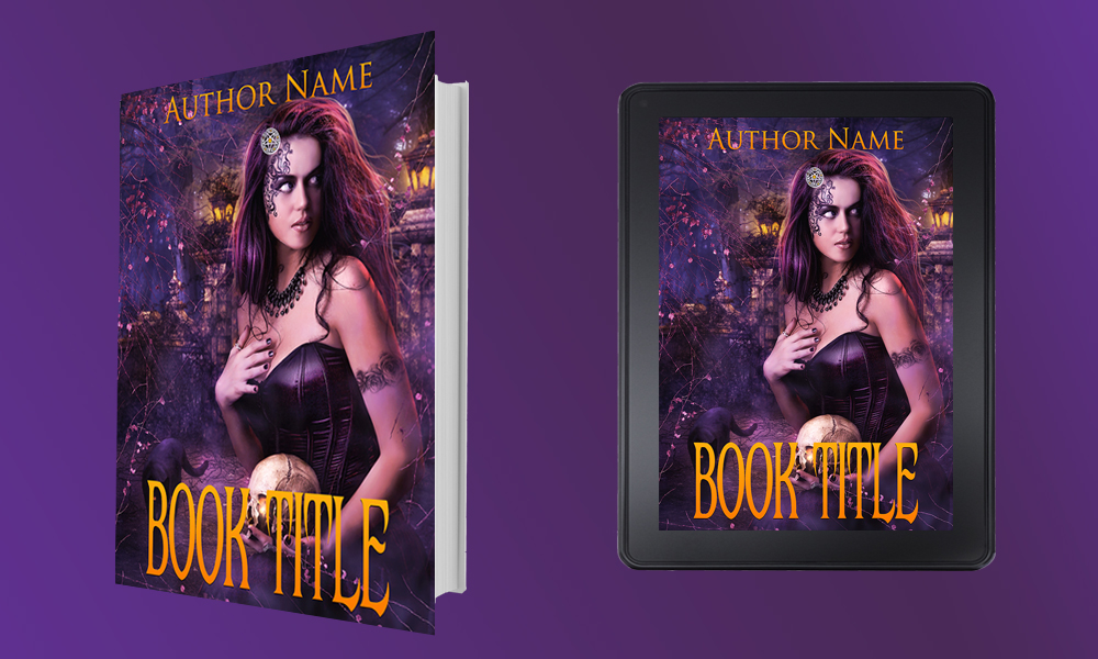 Kindle Book Cover Art ~ Dark witch the book cover designer