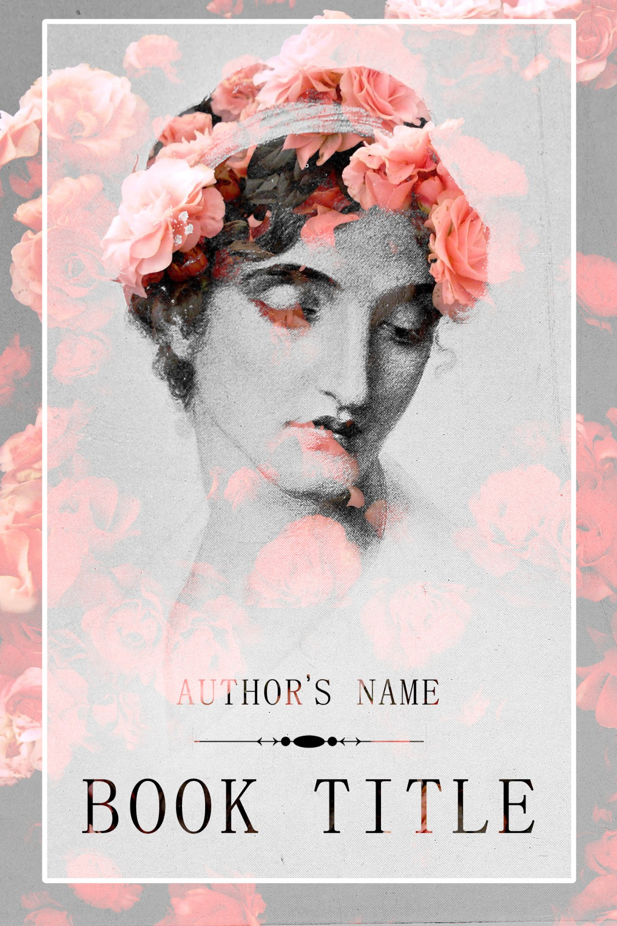 Book Cover Forros S : Lady of roses the book cover designer
