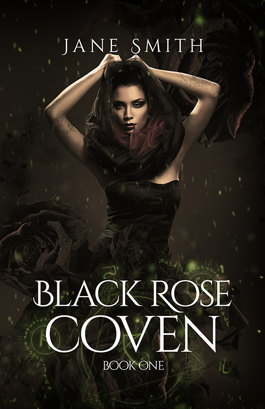 Book Cover Forros S : Black rose coven the book cover designer