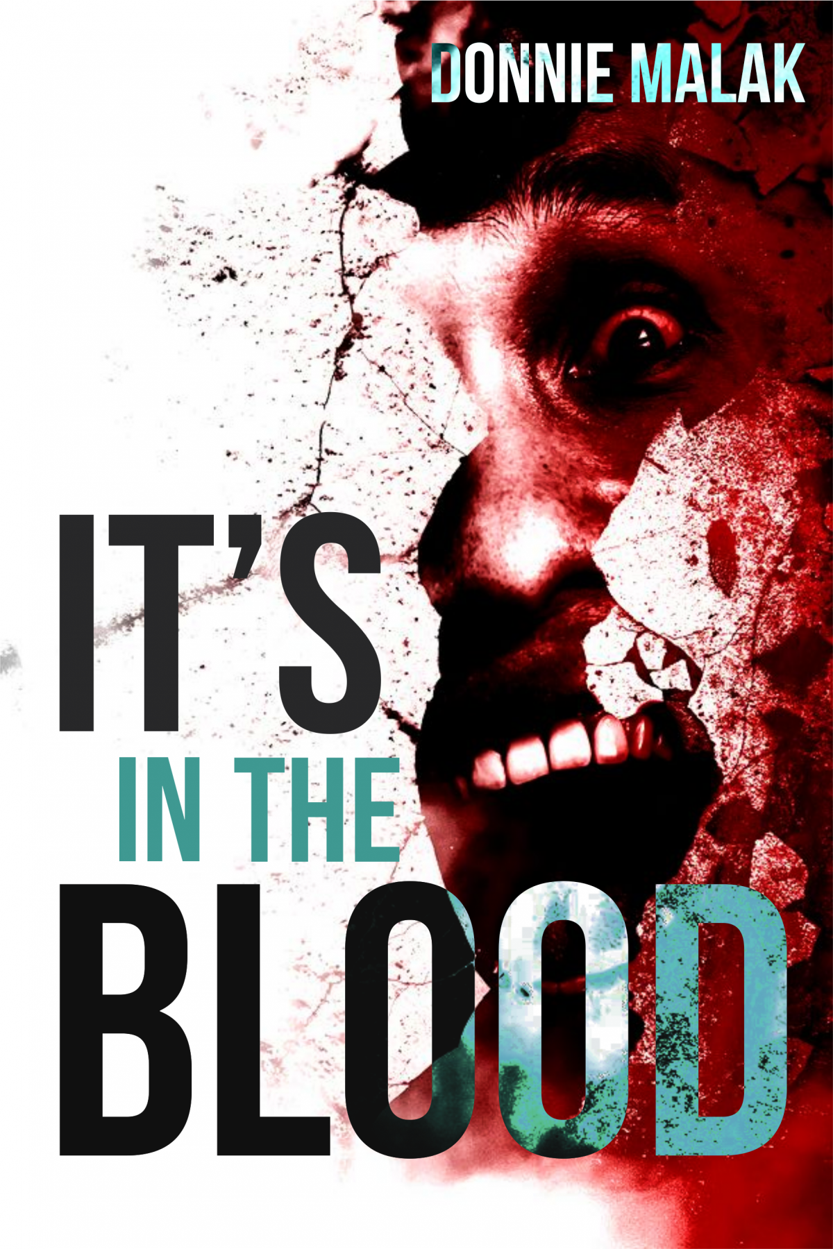 Book Covered In Blood : It s in the blood book cover designer