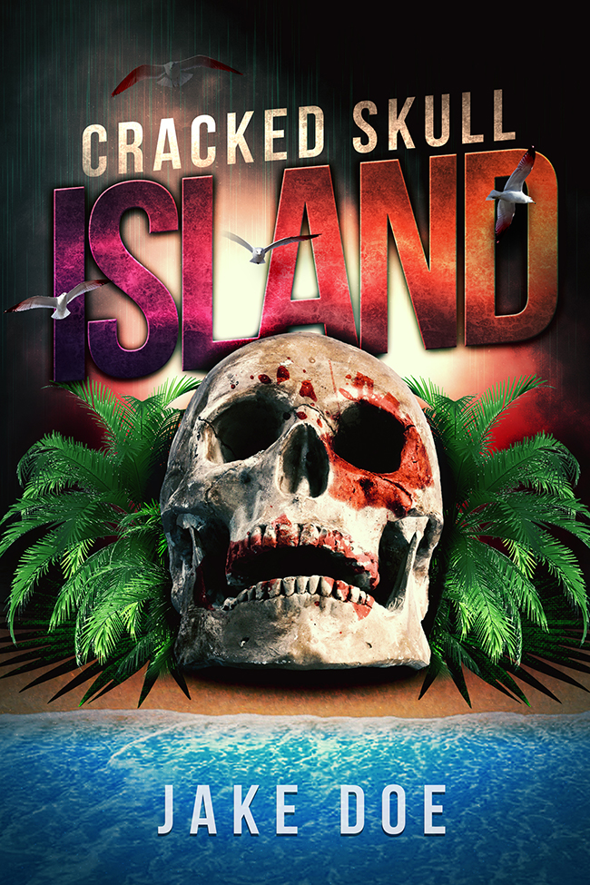 Book Cover Design Horror : Skull island horror cover the book designer