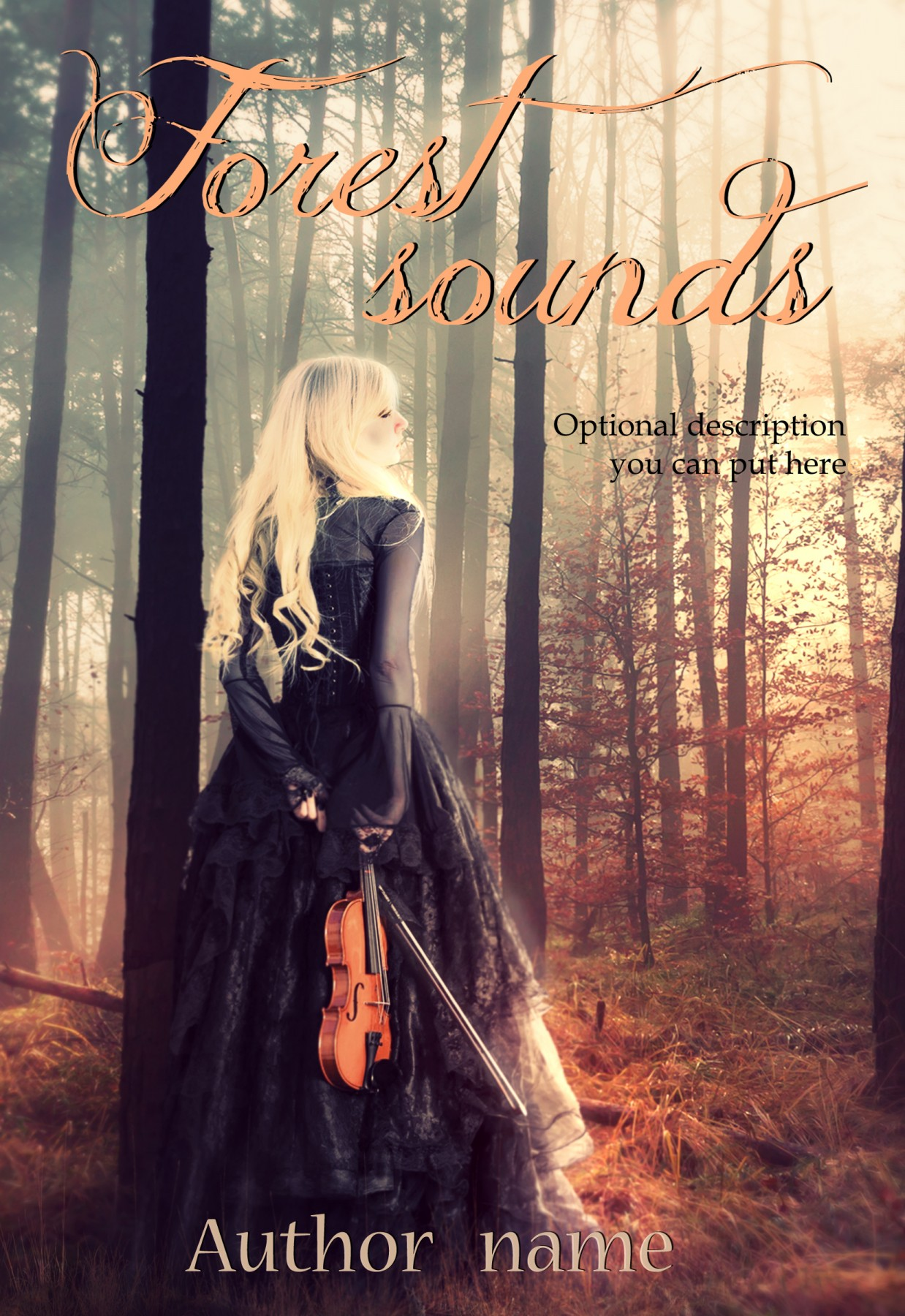 Forest sounds - The Book Cover Designer
