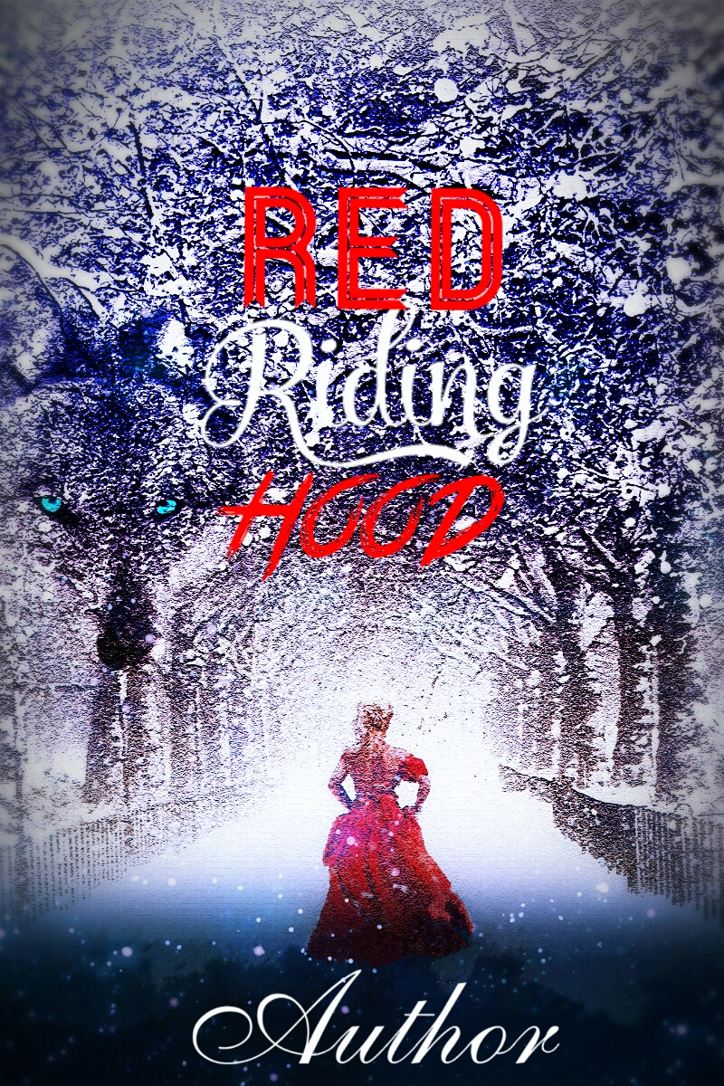 Red Book Cover Design : Red riding hood the book cover designer