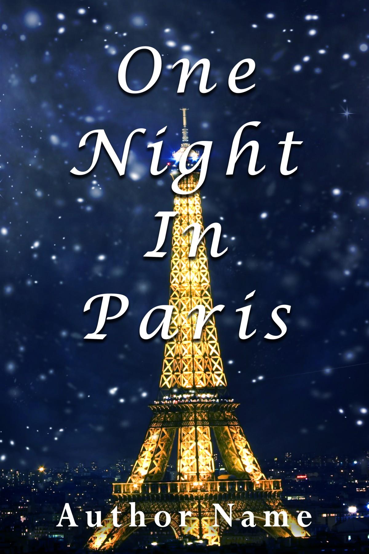 One Night In Paris - The Book Cover Designer