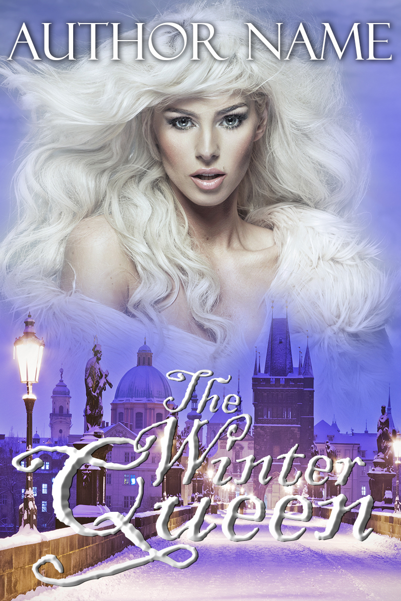 Pretty Book Cover Queen : The winter queen book cover designer