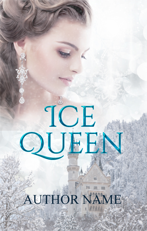 Pretty Book Cover Queen : Ice queen the book cover designer