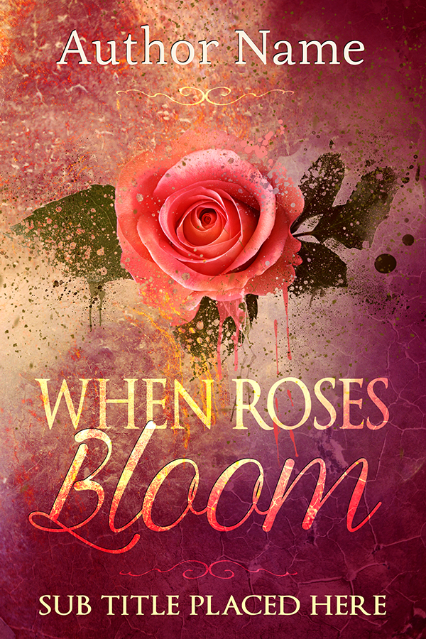 Book Cover Forros S : When roses bloom the book cover designer