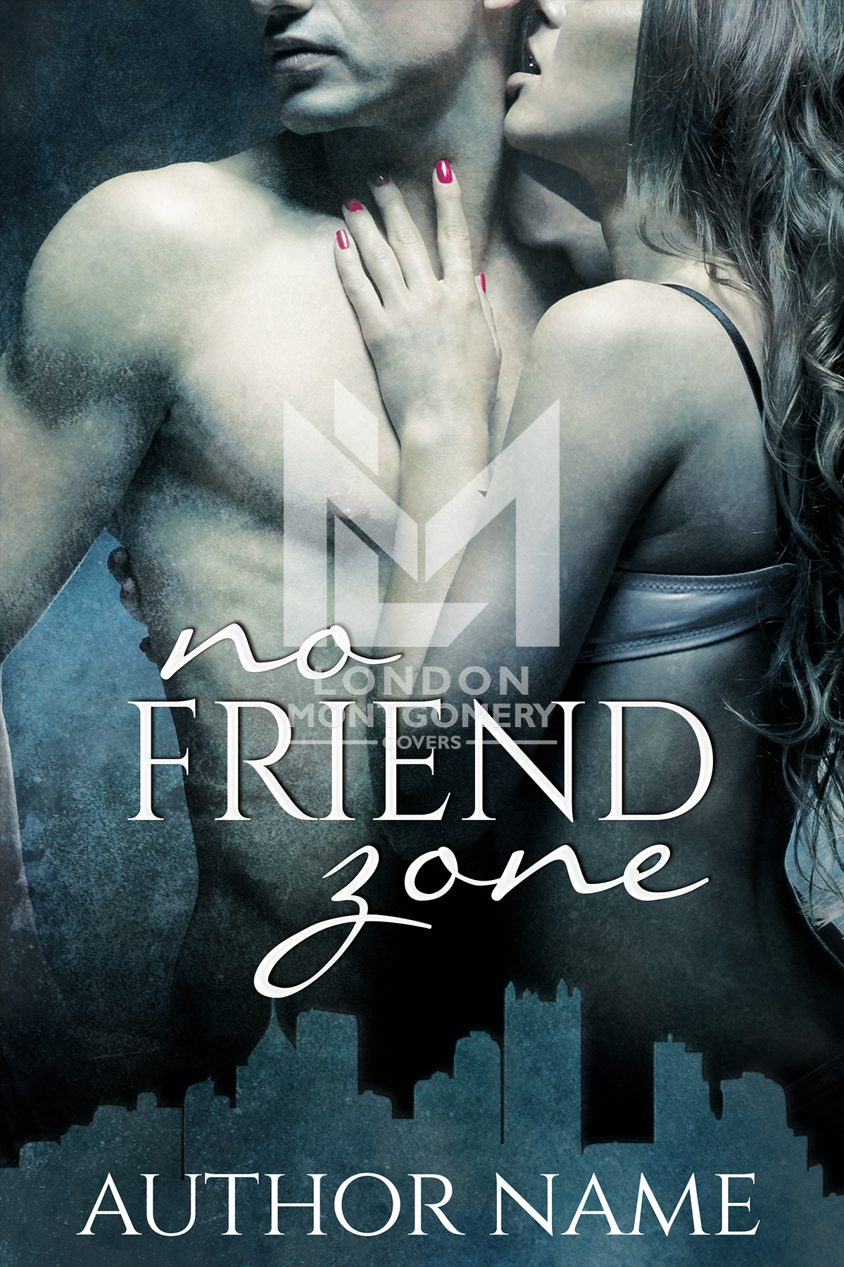 Book Cover Series Zone : No friend zone the book cover designer