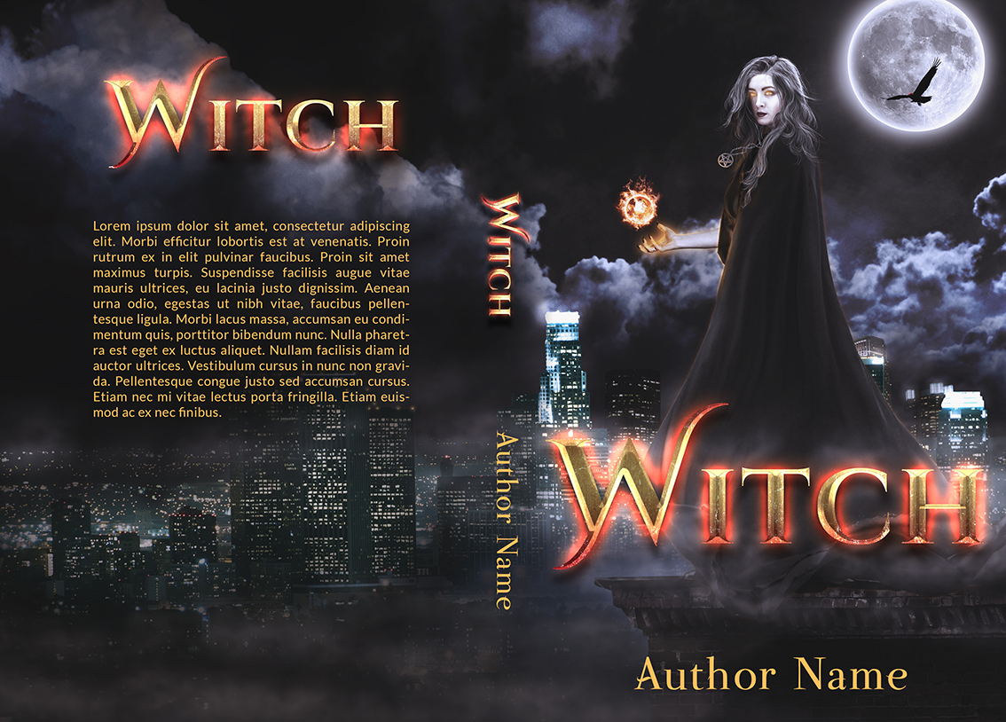 Witch Craft Book Cover ~ Witch the book cover designer