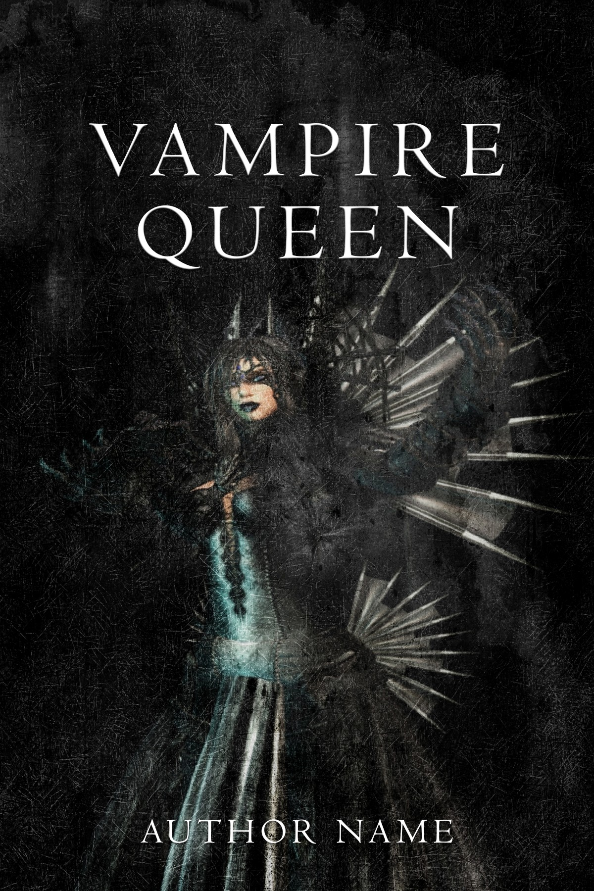 Pretty Book Cover Queen : Vampire queen the book cover designer