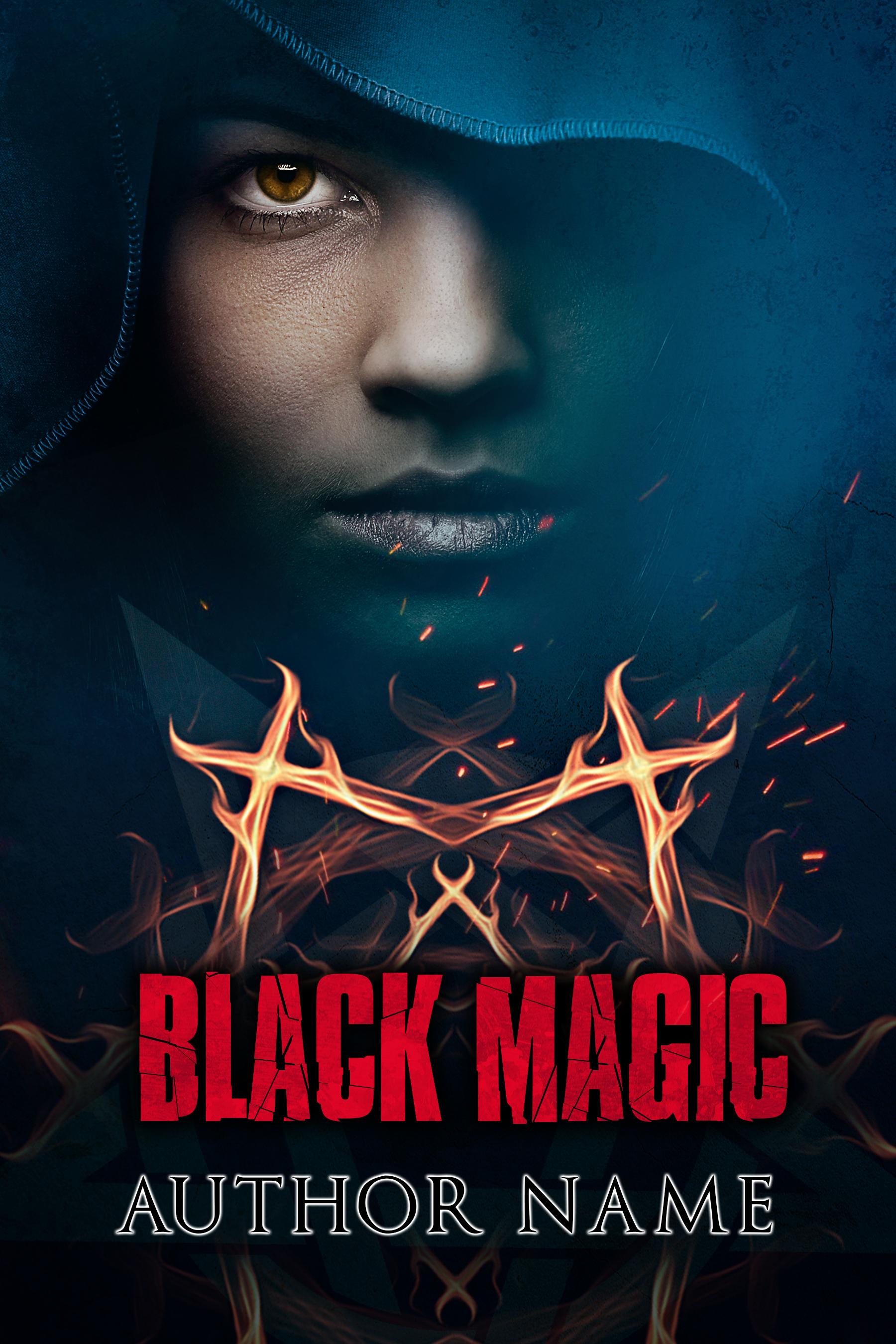 Book Cover Design Black : Black magic the book cover designer
