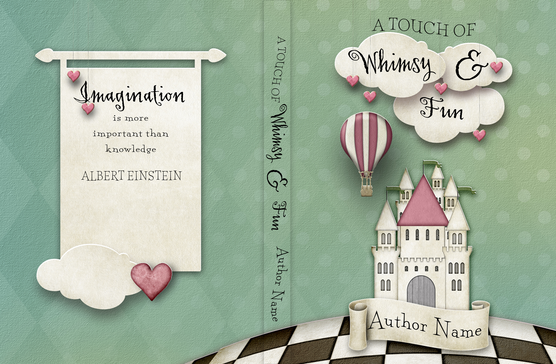 Kids Book Cover A Touch Of Whimsy Fun The Book Cover Designer