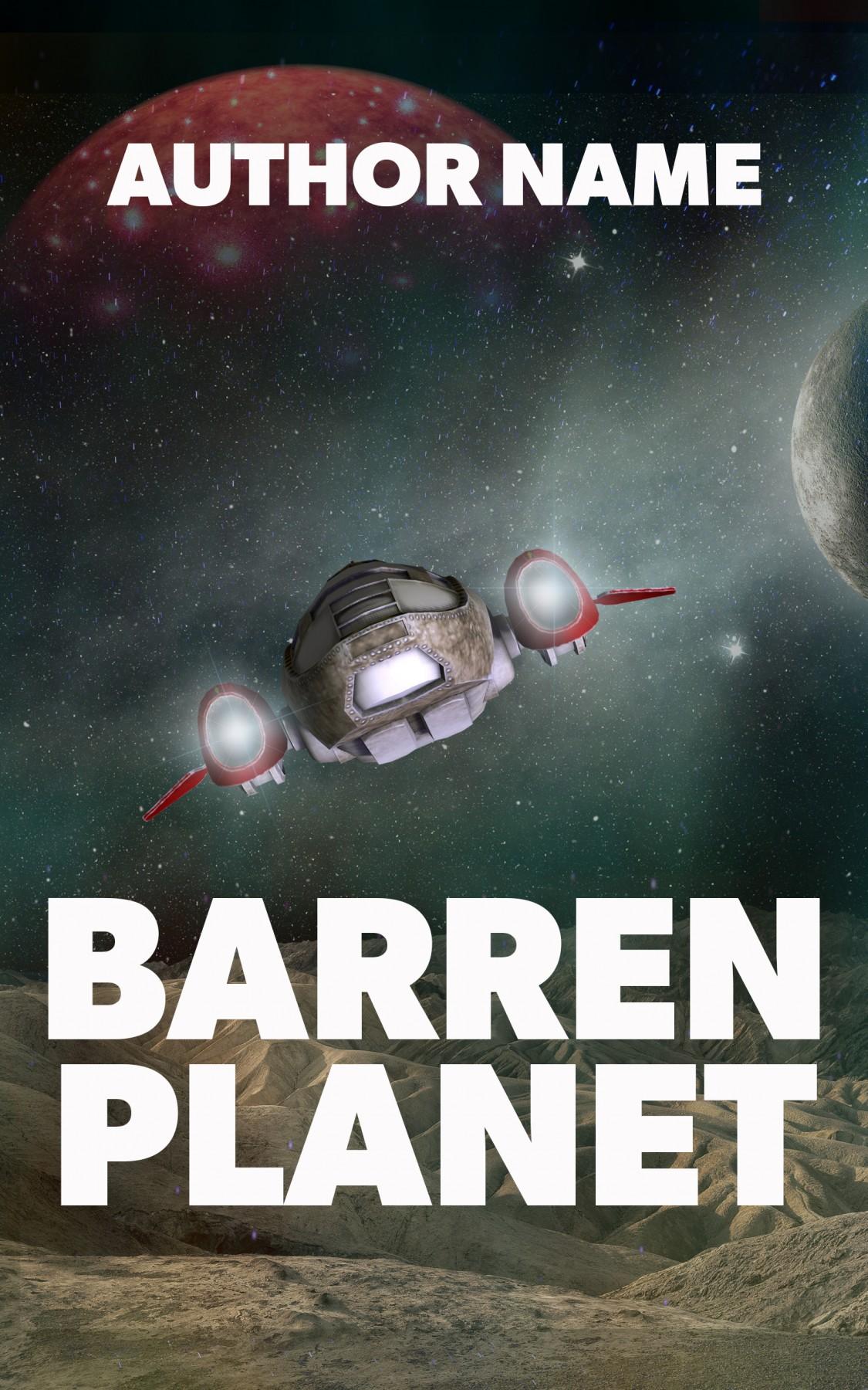 Barren Planet The Book Cover Designer