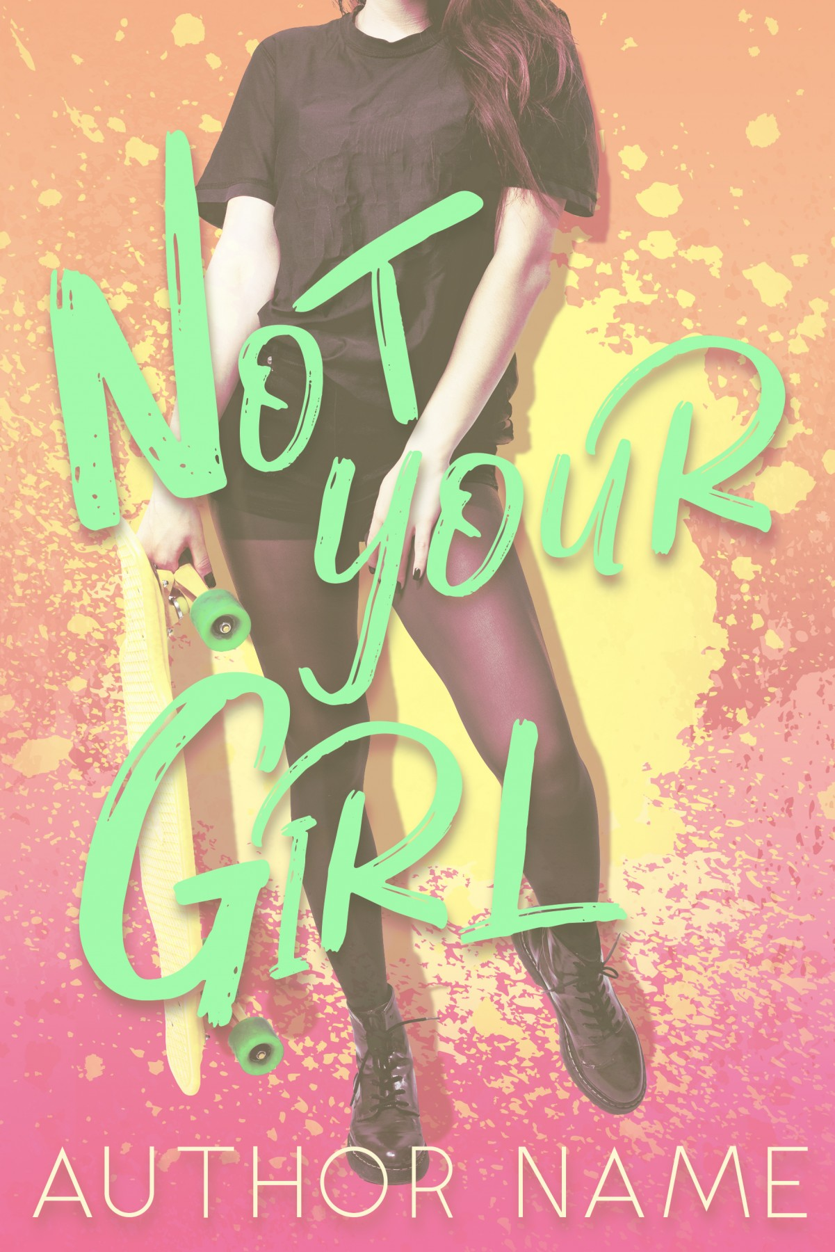 Not Your Girl (Ebook and Paperback) - The Book Cover Designer