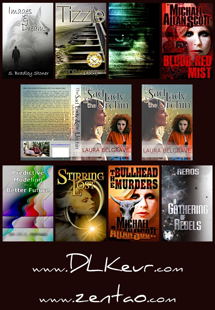 book covers by D. L. Keur, dlkeur.com