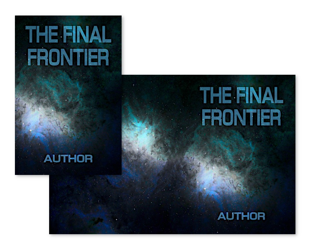 pre-made book cover suitable for science fiction and sci-fi