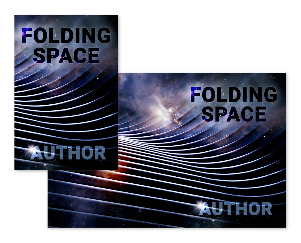 pre-made book covers suitable for science fiction, sci-fi, or non-fiction