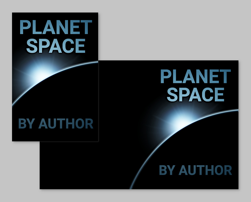 pre-made book cover suitable for science fiction, sci-fi, literary, and non-fiction